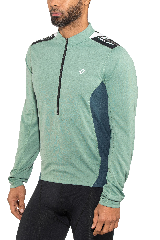 PEARL iZUMi Select Quest Bike Jersey Longsleeve Men green blue at ... ef1f63258